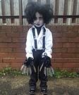 Edward Scissorhands Girls Costume DIY