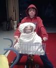 Elliott and ET Homemade Costume