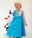 Homemade Elsa Costume