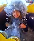 Elsa's Snow Storm Homemade Costume