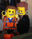 Emmet and President Business Homemade Costume