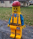 Emmet from The Lego Movie Homemade Costume