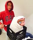 E.T. and Elliot Homemade Costume