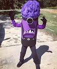 Evil Purple Minion Costume