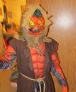 Evil Scarecrow Pumpkin