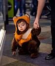 Homemade Ewok Toddler Costume