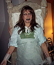 Demon possessed girl from The Exorcist movie