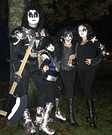 Family KISS Band Costume