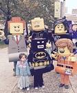 Family Lego Homemade Costume