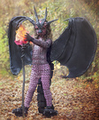 Fierce fiery Dragon Costume