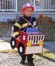 Fire Engine Costume for Boys