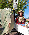 Fisherman and Fish Costumes