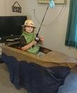 Fisherman in a Boat Costume