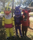Five Nights at Freddy's Characters Group Costume