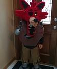 Homemade Foxy Costume