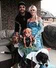 Frozen Crew Family Homemade Costume