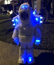 Frozen Marshmallow Snow Monster Costume