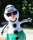 Frozen Olaf Homemade Costume