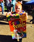 Fruity Pebbles Homemade Costume