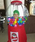 Gumball Machine Homemade Costume