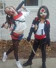 Harley Quinn and Katana Costume