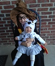 Harry Potter and Hedwig Costume