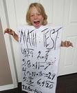 Haunted Homework Homemade Costume