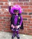 Hit Girl Toddler Homemade Costume