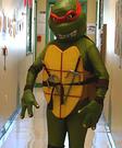 Homemade TMNT Raphael Costume