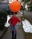 Homemade Hot Air Ballonist