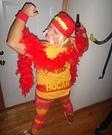 Homemade Hulk Hogan Costume