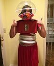 Human Gumball Machine Homemade Costume