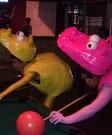 Homemade Hungry Hippos Costume