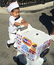 Ice Cream Boy Homemade Costume