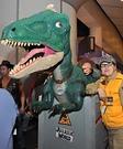 Izzy the Jurassic World Dino Homemade Costume