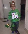 Jack and the Beanstalk Homemade Costume