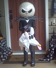 Jack Skellington - Jack the Pumpkin King Homemade Costume