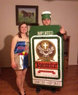 Jager Bombs costume for couples