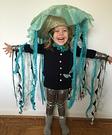 Jellyfish Girl Costume