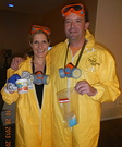 Movie couples costumes - Jesse Pinkman and Walter White