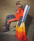 DIY Jet Pack Illusion Costume