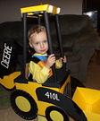 John Deere Backhoe Costume