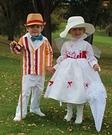 Jolly Holiday Mary Poppins & Bert Costumes