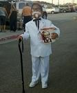 Homemade KFC Costume