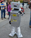 Killer Candy Robot Homemade Costume