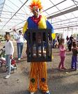 Killer Clown captures Boy Illusion Costume