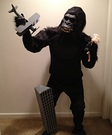 Movie character costume ideas - King Kong Costume