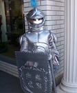 Knight in Shining Armor Homemade Costume