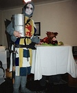 Knight of the Round Table Homemade Costume