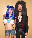 Katy Perry and Russell Brand Costumes